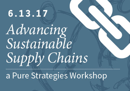 June workshop to help companies get the most from supply chain engagement